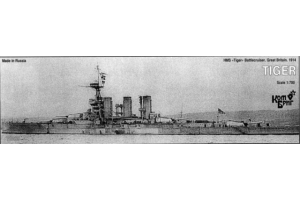 Battlecruiser HMS Tiger